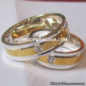 Cincin Tunangan LES06 Perak Lapis Emas So Elegant